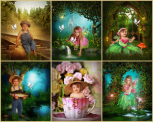 Magical Garden Portraits